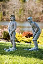 """35"""" NOSTALGIC GOLFER cement garden outdoor statue PGA"""