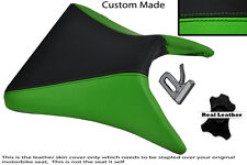 BLACK & GREEN CUSTOM 03-04 FITS KAWASAKI NINJA ZX6R FRONT SEAT COVER