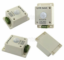 Hot DC 12V-24V 4A Automatic Infrared PIR Motion Sensor Switch For lighting light