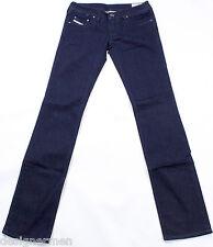 DIESEL Nuovo di Zecca Lowky 8FE Jeans 25X32 100% Autentico Slim Fit Straight Fit