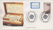 ESSAIE SERIGRAPHIE DE DELPORT PREMIER JOUR 1983  EUROPA LE CINEMA