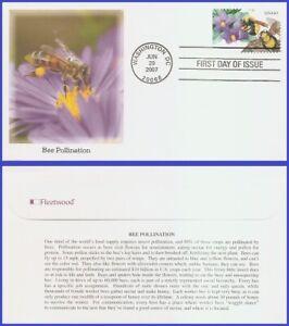 USA5 #4153 U/A FLEETWOOD FDC   Purple nightshade and Morrison's bumblebee