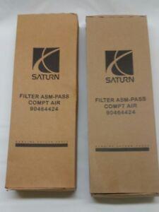 Paif of Saturn GM OEM 01-05 L300-Cabin Air Filter 90464424
