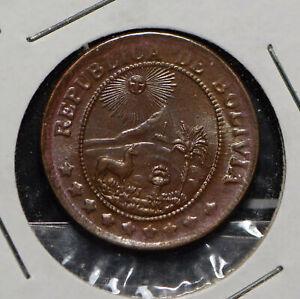 Bolivia 1942 50 Centavos  290282 combine shipping