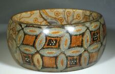 Women's Spring Fashion Bangle with Beautiful Trendy Print - Excellent Condition!