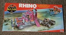 M.A.S.K. 1985 Rhino Semi 100% Complete Boxed Foreign release unnaplied stickers