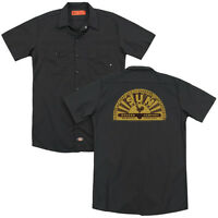 SUN RECORDS TRADITIONAL LOGO Adult Men's Dickies Graphic Work Shirt SM-3XL