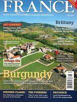 France Travel Magazine Burgundy Loire Gardens St. Helena Napoleon Pyrenees 2013