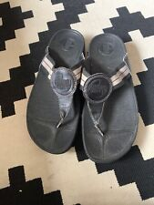 LADIES FITFLOPS SANDALS SIZE 7