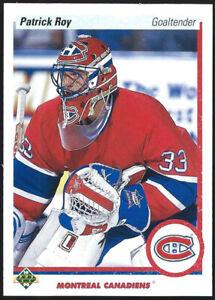 "1990/91 Upper Deck PATRICK ROY ""ERROR PROMO"" Card #241"