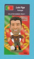 FOOTBALL - CORINTHIAN  -  FOOTBALLER  CARD  -  LUIS  FIGO  OF  PORTUGAL