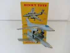 French Dinky Toys No. 60B, Vautour S.N.C.A.S.O. Fighter, - with original box