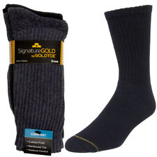 Gold Toe Socks Men (3 Pairs) Mens Socks Moisture Wicking Socks, Shoe Size 6-12