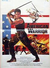 """AMERICAN WARRIOR (AMERICAN NINJA)"" Affiche originale (Michael DUDIKOFF)"