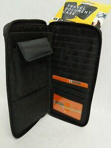 Buxton Zip Around Passport/Travel Case - New
