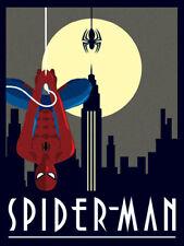Marvel Deco - Spider-Man Hanging - Ready Framed Canvas