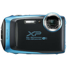 Fujifilm FinePix XP140 Waterproof Digital Camera Sky Blue