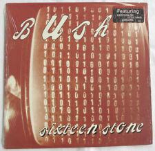 BUSH -SIXTEEN STONE- ORIG 1996 TRAUMA LP SHRINK HYPE 1ST PRESS LABEL ERROR NM/NM
