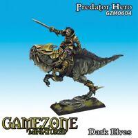 Gamezone Miniatures: Dark Elves - Predator Hero (1) - GZM0604