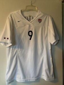 2002 Nike USA Mia Hamm #9 XLarge Home White Jersey Soccer USWNT