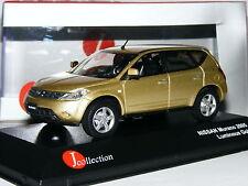 J-Collection JC105 2005 Nissan Murano Metallic Luminous Gold 1/43