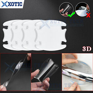 3D Invisible Door Handle Guard Sticker Cover For Hyundai Elantra Veloster 2000+