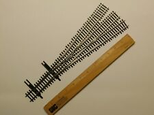 HO Scale Walthers Shinohara Code 83 #6 3-Way Track Switch Turnout