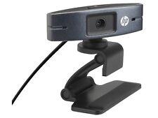 NEW HP HD 2300 Webcam USB Web Widescreen Camera Y3G74AA PC Skype Mic Video Chat