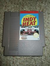 Danny Sullivan's Indy Heat (Nintendo Entertainment System NES, 1992) Cart PAL B