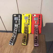 OFF WHITE Virgil Abloh Cell Phone Cover Case Protection for iPhone 6 6s 7 Plus
