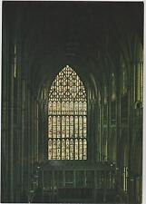 Postcard  YORK Minster The Great East Window 1405 - 1408