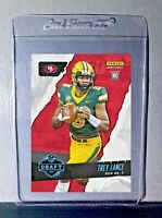 Trey Lance 2021 Panini NFL Instant Draft Night #5 Rookie Card PreSale