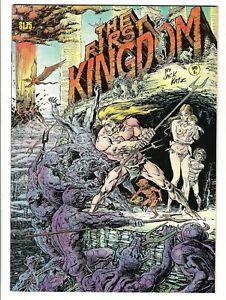 The First Kingdom #1 (1975) FN/VF  4th Print   Jack Katz
