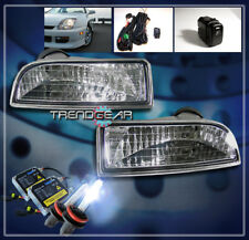 FOR 97-02 HONDA PRELUDE CLEAR FOG LIGHTS LAMPS W/HID 00 01