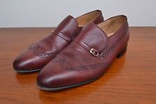 Stylish Quality Leather British Vintage Wing Tip Mens Grenson Gallants