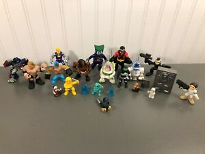 Imaginext Action Figure Lot of 20 Mixed Figures Star Wars Wrestler Super Hero