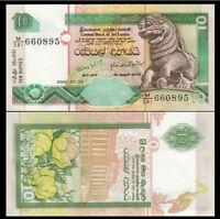 SRI LANKA 10 Rupees, 2006,  P-115, UNC World Currency