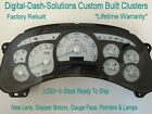 Ts 03 04 05 Digital-dash-solutions Custom Built Complete Silverado Cluster Sale