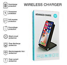 wireless ultra fast phone charger stand adjustable angle QI 15w wireless charger