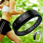 Bluetooth Wireless Bracelet Smart Brand Wristband Sport Watch Fitness Tracker AD