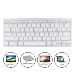 Portable BT Wireless Russian/Thai Keyboard Office For IOS/Windows/Android