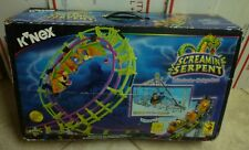 2 MODELS SCREAMING SERPENT KNEX K'NEX Screamin' Serpent Roller Coaster BOX MANUA
