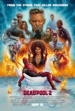 "Deadpool 2 - Movie Poster - (27""x40"")  Ryan Reynolds, Josh Brolin - Free S/H"