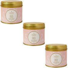 3 x Shearer Candles Home, Amber Blush, Large Scented Tin Candle - 40 Hour Burn