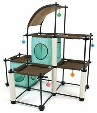 Cat Tree House Cats Pet Climbing Condo Furniture Scratching Kitty Tower Bed Toy
