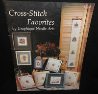 Graphique CROSS STITCH FAVORITES Chart Leaflet Williamsburg Monza Hieroglyphics