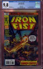 IRON FIST #73 LENTICULAR COVER CGC 9.8   IRON FIST #14 (1977)    COMIC KINGS