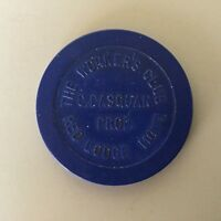 Red Lodge Montana vintage chip from Worker;s Club