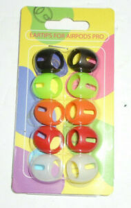 Eartips For Airpods Pro 5 Pairs Colorful