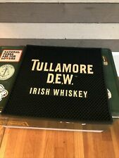 """Brand New Tullamore Dew Irish Whiskey Bar Mat Barware 14.5"""" x14.5"""""""
